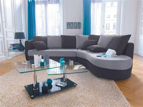 canapé d angle convertible reversible pas cher canapé d 39 angle noir et gris