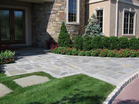 front entry landscape ideas landscaping ideas by nj custom pool backyard design expert