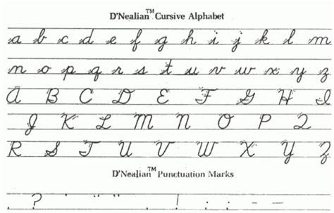 All The Cursive Letters Descargardropbox