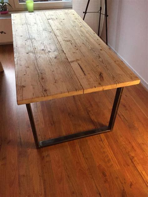 Tisch Aus Holzdielen by Die Besten 25 Esstisch Holz Ideen Auf Holz