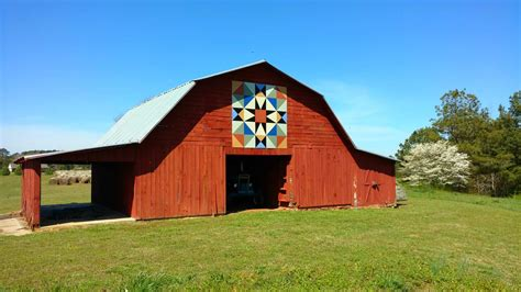 Alabama Barns by See The Alabama Barn Quilt Trail Southern Plate