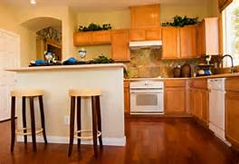 Floor Is Just The Right Amber Color To Unify With The Cabinets In The Dark Wood Floors Light Kitchen Cabinets Dark Wood Floors With Light Floors On Pinterest Dark Wooden Floor Modern Kitchens And Floors Dark Wood Floors And Light Cabinets Dark Kitchen Cabinets With Light