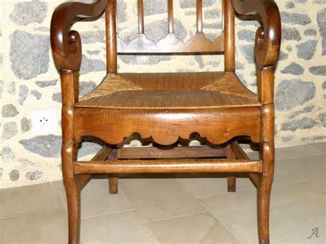 fauteuil paill 233 d 233 poque restauration artisans du patrimoine