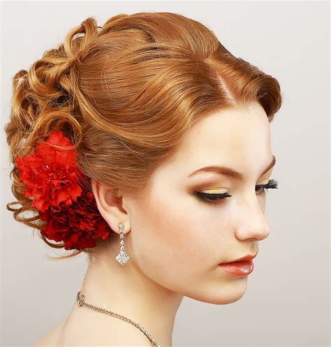 easy prom hairstyles  short  medium length hair