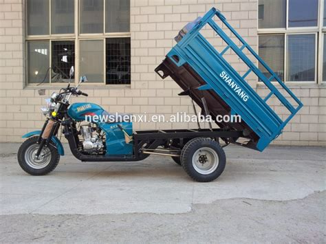 200cc 5 Wheel Cargo Motorcycle With Double Rear Wheels