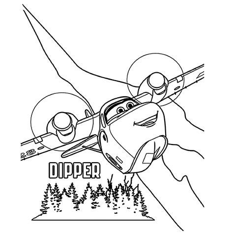 Kleurplaten Planes 2 Printen by Leuk Voor Dipper Het Blusvliegtuig