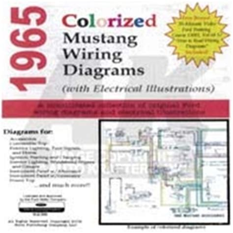 Mustang Colorized Wiring Diagram