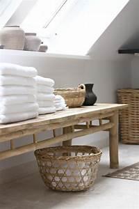 Meuble De Salle De Bain En Bambou : jolies variantes pas cher pour un meuble en bambou ~ Edinachiropracticcenter.com Idées de Décoration