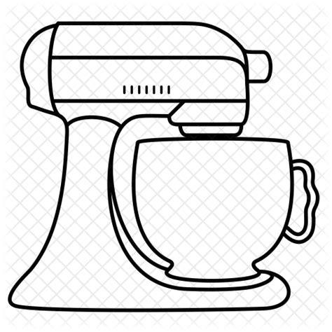 Kitchenaid Mixer Vector by Mixer Drawing At Getdrawings Free For Personal Use