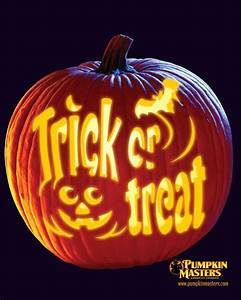 haunted house pumpkin carving patterns free top 5 With trick or treat pumpkin template