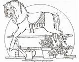 Horse Pages Coloring Colouring Adult Rocking Horses Books Embroidery Paper Boop Betty Outline Patterns Hand Enregistree Depuis Adults A4 Afkomstig sketch template
