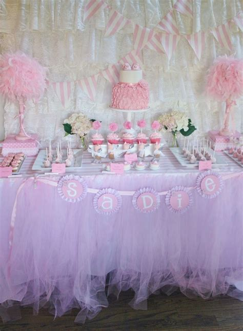 Baby Shower by And Everything Sweet Pretty In Pink Baby Shower Baby Shower