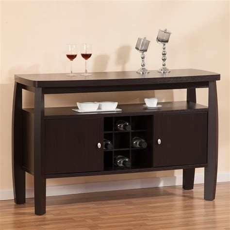 Dining Table Sideboard by Furniture Of America Dining Buffet Table With 9