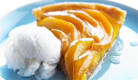 cuisiner mangue recette tarte tatin à la mangue recettes les desserts