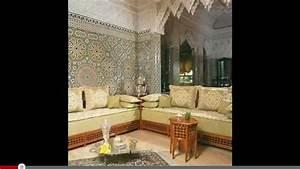salon marocain With decoration des maisons marocaine