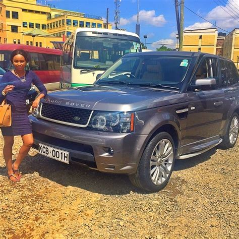 Kenyan Celebrities And Their Cars! That Are Fast