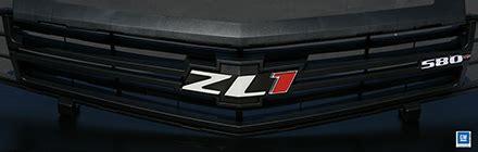 camaro zl   hp front grille emblem
