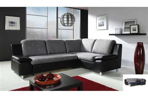 fauteuil de bureau tissu canapé d 39 angle convertible renato tissu et cuir pu