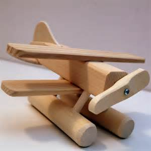 Wooden Airplane Toy Plane