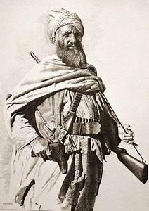 Pashtun Warrior Afghanistan Anglo Afghan War   writing ...