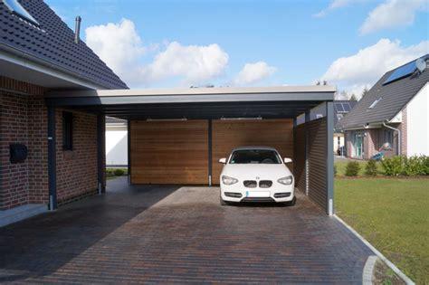 Carport An Haus by Unsere Carportvielfalt Im Modernen Design Carporthaus