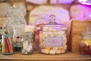 Bar A Bonbon Mariage : photo mariage wedding decoration table candy bar chateau ~ Melissatoandfro.com Idées de Décoration