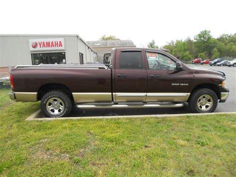 Find Used 2004 Dodge Ram 1500 Laramie 4x4 4-door 8' Bed In