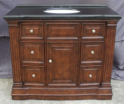 43 inch vanity with sink 43 inch single sink bathroom vanity with 6 small drawers