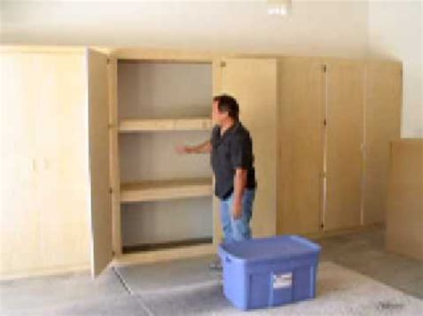 Building Storage Cabinets With Doors Listitdallas