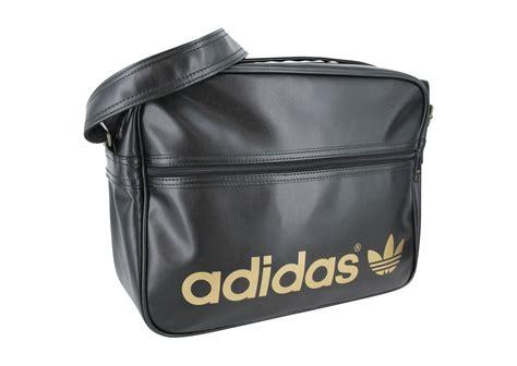 Adidas Sac Airline Bag Noir Or