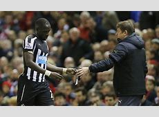 Newcastle United midfielder Moussa Sissoko faces