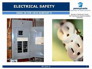 electrical safety by pa li With electrical safety training ppt
