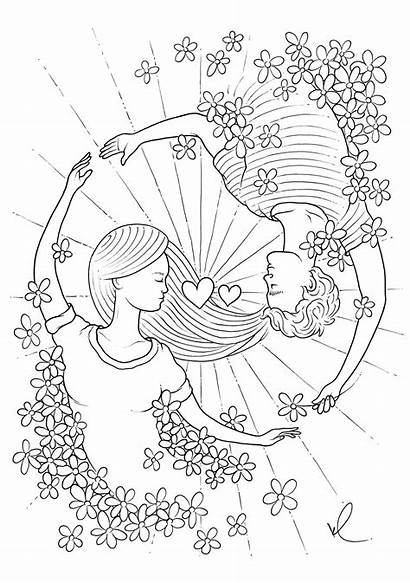 Coloring Valentine Pages Adults Valentines Adult St