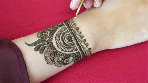 beautiful mehndi design   hands full hand
