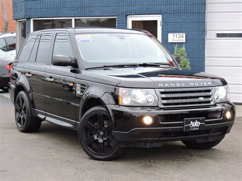 land rover range rover sport hse used 2008 land rover range rover sport hse at auto house usa saugus