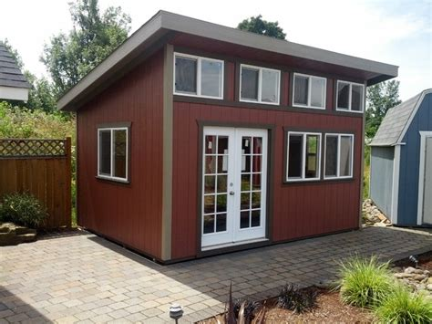 better built garages custom sheds contemporary shed portland by better