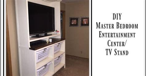 diy dual purpose bedroom entertainment centertv stand