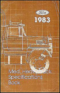 ford truck service specs manual
