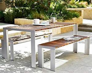 Solid Teak Outdoor/Patio Dining Table by Jesús Gasca