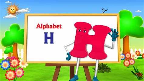 letter  song  animation learning english alphabet abc