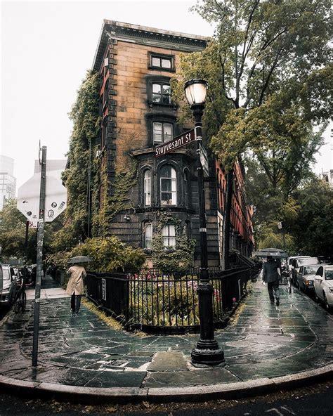 Stuyvesant Street ☔️ New York Architectural Detail
