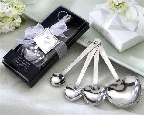 Heart Measuring Spoon Wedding Favor