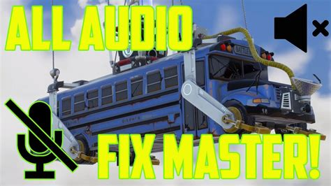 fortnite voice chat  working fix master video pc