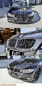 Bmw E90 Lci : gloss black m4 style front bumper bar kidney grille for ~ Kayakingforconservation.com Haus und Dekorationen