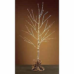 Buy Pre Lit 4 Foot LED Birch Tree from Bed Bath & Beyond