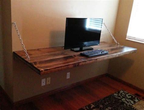 legless desk suspended  chains  inspired