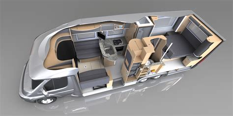 Mercedes Sprinter Motorhome Floor Plans
