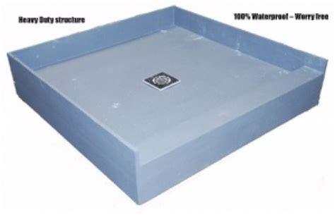 tile ready shower base preformed tile ready shower pan 48 x 48 diggerslist