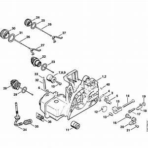 Stihl 025 Spare Parts List