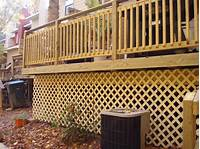 lattice under deck Tips for Using Lattice Around the Home - Fence Specialists